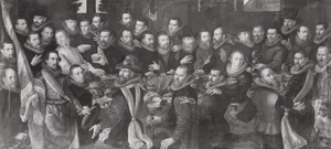 Officieren en schutters Kloveniersdoelen, Haarlem (1610)