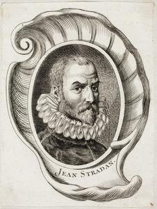 Portret van Jan van der Straet (1523-1605)