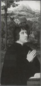 Portret van een schenker