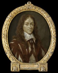 Portret van Caspar van Kinschot (1622-1650), dichter