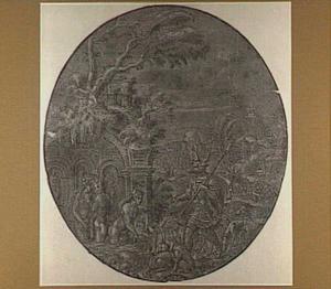 Diana verandert  Actaeon in een hert (Metamorfosen 3:138-253)