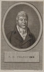 Portret van Francois Daniel Changuion (1766-1850)