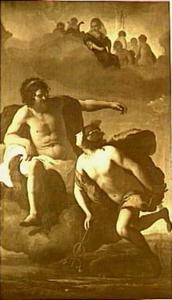 Jupiter beveelt Mercurius de herder Argus te doden