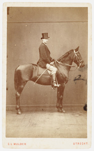 Portret van Baris Langeveld (1845-1915)