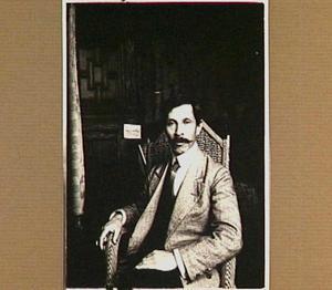 Portret van de schilder Johannes Evert Hendrik Akkeringa (1861-1942)