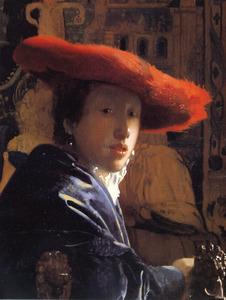 Meisje met een rode hoed