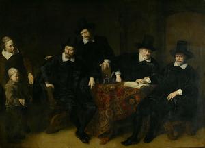 Regenten van het Leprozenhuis te Amsterdam, 1649
