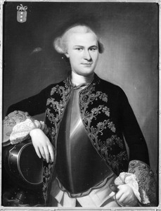 Portret van Willem August Sirtema van Grovestins (1740-1813)