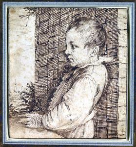 Portret van Jacob Somers op zes-en-een-halfjarige leeftijd