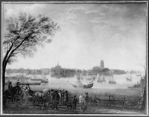 Bezoek van prins Willem III aan Dordrecht in 1672 (?)