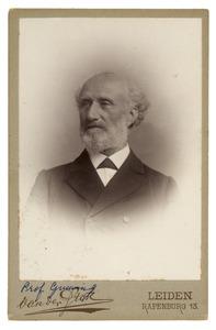 Portret van Johannes Hermanus Gunning (1829-1905)