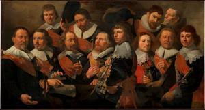 Officieren van de Oude Schutterij te Alkmaar, 1641