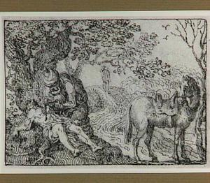 De  barmhartige Samaritaan verzorgt de gewonde reiziger  (Lucas 10:25-37)