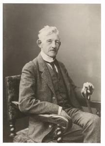 Portret van Frederik Willem Eduard Groeninx van Zoelen (1844-1922)