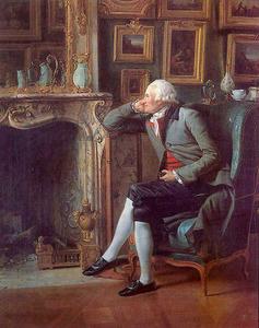 Baron van Besenval (1722-1794) in zijn salon
