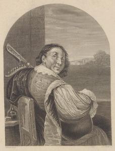 Portret van Frans van Mieris I (1635-1681)