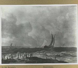 Scheepvaart voor de kust
