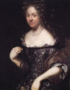 Portret van Bente Randulf (... - 1699)