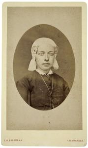 Portret van Luutske Annes Zandstra (1868-1928)