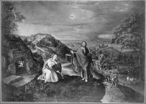 April: de verschijning van Christus aan Maria Magdalena