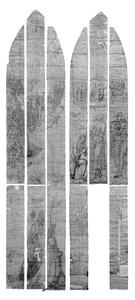 De doop van Christus in de Jordaan (Lucas 3:21-22), met stichtersportret