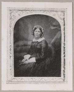 Portret van Agatha Johanna Elisabeth Wilkens (1806-1892)
