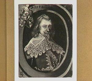 Portret van Tjepcke Eescke Poppema Gerbranda van Aylva (?-1681)