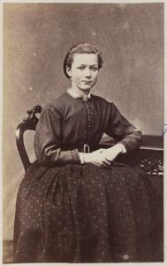 Portret van een vrouw uit familie Feenstra