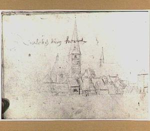 De kerk te Valkenburg (Z-H)