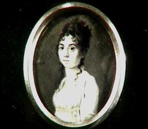 Portretminiatuur van Lucia Catharina Stratenus (1780-1848)
