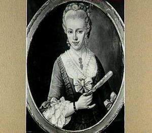 Portret van Margaretha Duyvensz. (1753-?), dochter van