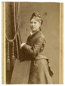 Portret van Elisabeth Busch Geertsema