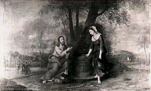 Christus en de Samaritaanse vrouw
