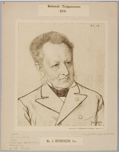 Portret van Mr. J. Heemskerk Azn