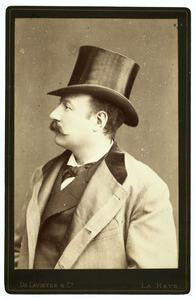 Portret van Francois Joseph Cuissinier (1840-1903)