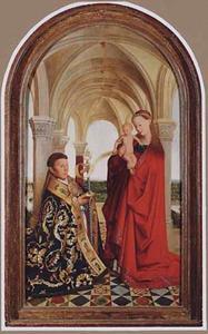 Pieter Wijts in aanbidding voor Maria met kind
