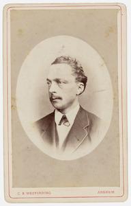 Portret van Michael Adriaan Wichers (1836-1886)