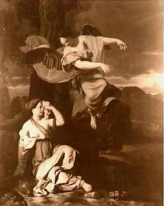 Hagar en de engel in de woestijn (Genesis 16:7-14)