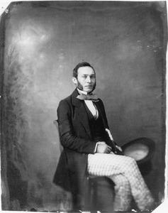 Portret van Anthony Hoynck van Papendrecht (1819-1877)