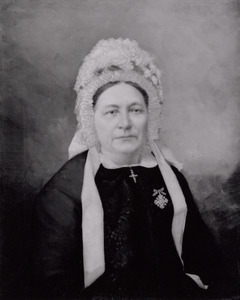 Portret van Maria Bernarda Jurgens Feijen (1822-1889)