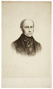 Portret van Johan Cornelis Schorer (1801-1856)