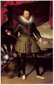 Portret van Vincenzo (I) Gonzaga, Hertog van Mantua (1562-1612)