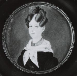 Portret van Jacoba Lage (1806-1838)