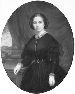 Portret van een persoon genaamd Anna Waardenburg (1836-1861)