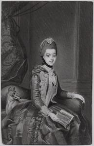 Portret van Wilhelmina van Pruisen (1751-1820),  echtgenote van prins-stadhouder Willem V van Oranje