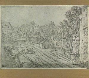Wittevrouwensingel in Utrecht, met links de Stadsbuitengracht en rechts de Kruisstraat