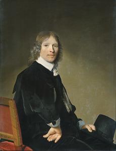 Portret van Eduaert Wallis (1621-1684)