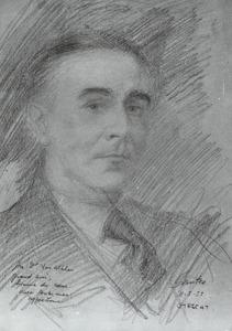 Portret van Dr. van Alphen