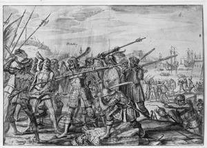 Een gevecht bij Middelburg