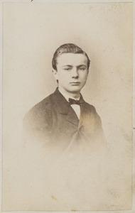 Portret van W. Helder (...-...) uit Sneek